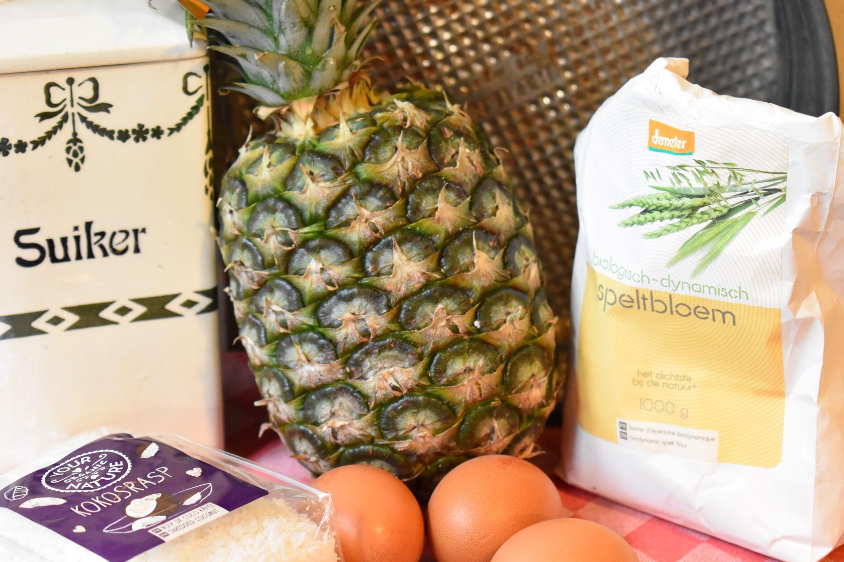 Ananas-kokos-taart
